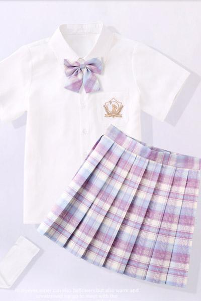 2021夏季百褶裙jk制服裙�和�半身裙�W生短裙小女孩�W院�L夏季公主裙GK