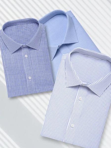 量品男装品牌2021夏季商务衬衫3色可选