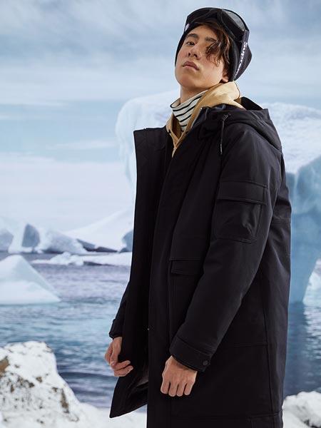 阿仕顿artsdon男装品牌2021春夏个性大衣外套