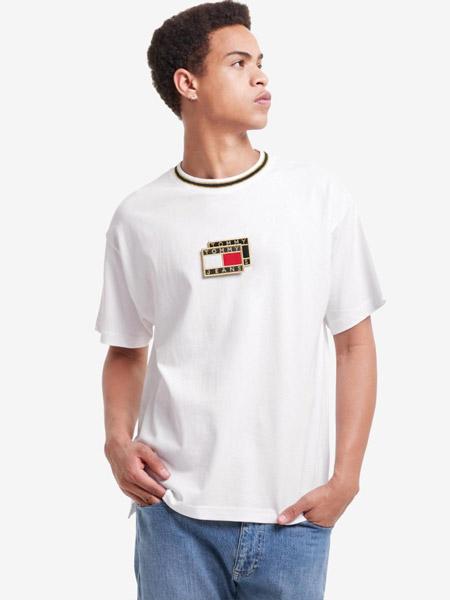 Brooks Brothers布克兄弟男装品牌2021春夏新款春夏男装街潮纯棉绣标短袖T恤