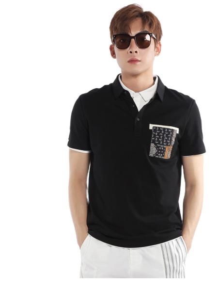 �戈�T男装品牌2021夏季商务短袖衬衫