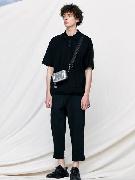 J.P.E男装品牌2021春夏双面珠地polo衫