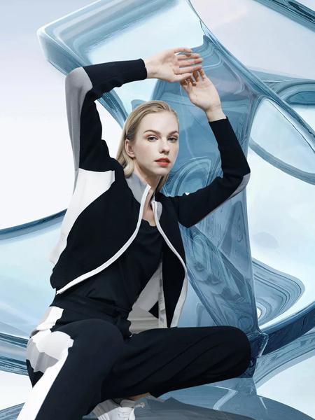 JAOBOO 乔帛女装品牌彩38平台2021秋季休闲撞色外套