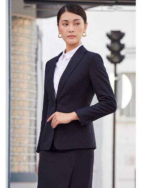 圣澳威斯服装定制品牌2021春夏职场西装套装