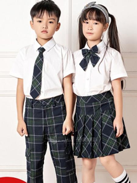 圣澳威斯服装定制品牌2021春夏英伦风校服