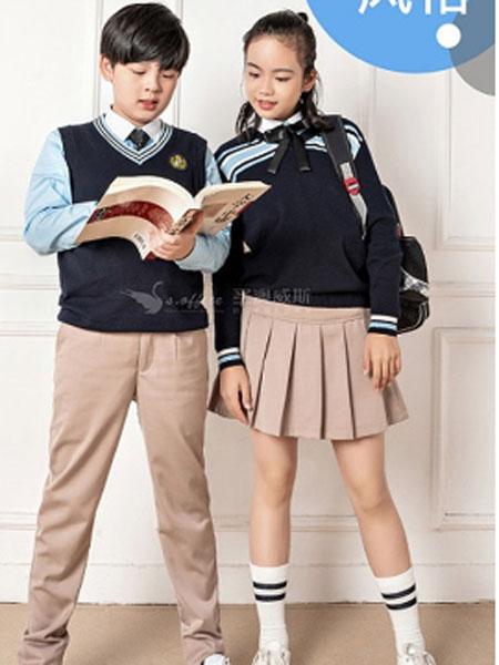 圣澳威斯服装定制品牌2021春夏现代学生校服