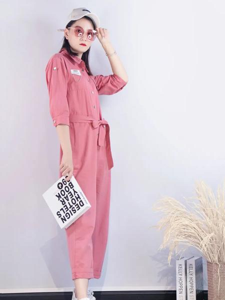 領卉女裝品牌2021秋季時尚俏皮套裝