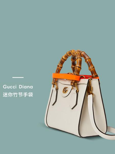Gucci古驰箱包品牌时尚迷你竹手手提包