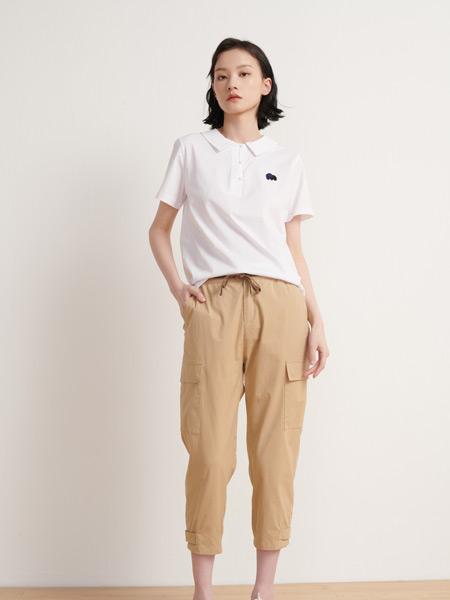 末未女装品牌2021夏季七分裤休闲裤