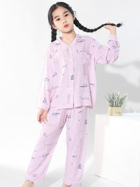 紫色花语童装2021春夏新品