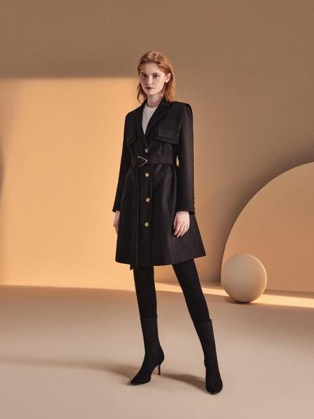你即永恒女装品牌2021秋季系带宽松外套套装