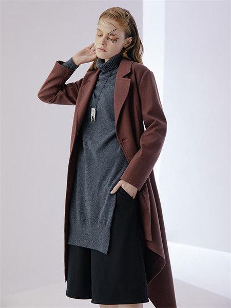 ZAIN形上女装品牌2021秋冬长款加厚风衣