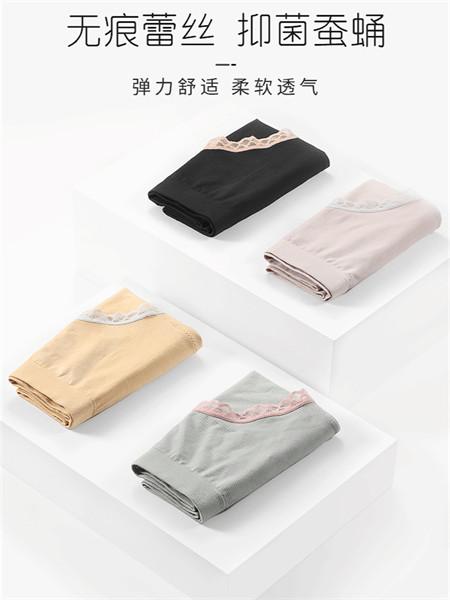 女人心内衣品牌日系少女中腰蕾丝三角裤4条内裤