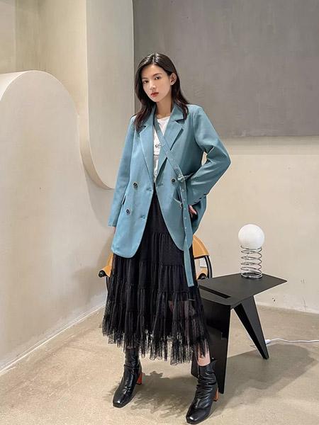 F.SHINE女装品牌2021秋季宽松时尚休闲外套