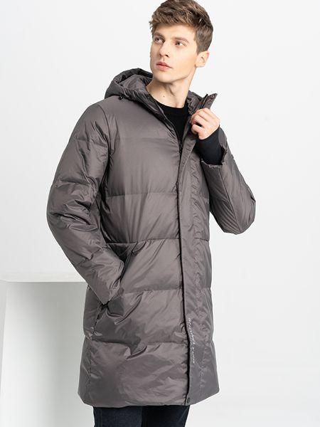 乔治邦尼男装品牌2021秋冬保暖简约羽绒服外套